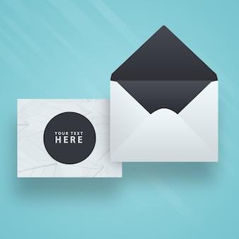 봉투 및 카드 모형
