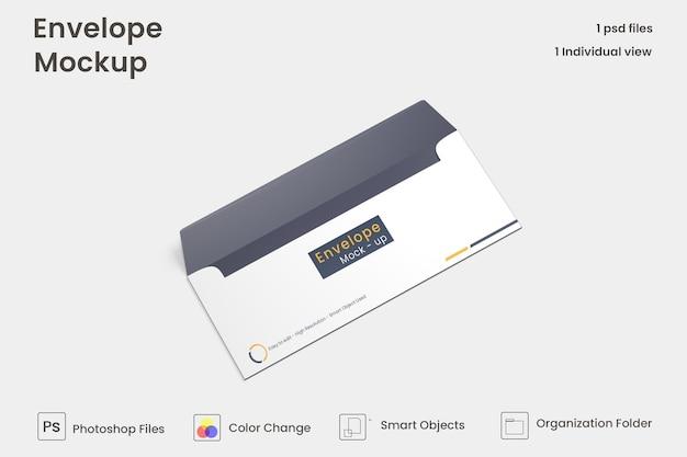 Envelope mockup design premium psd