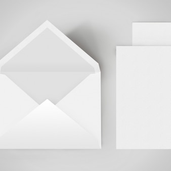 봉투 템플릿 디자인 무료 PSD 파일