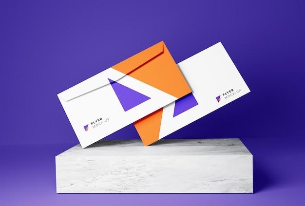 Envelopes mockup