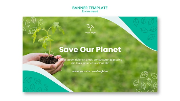 Environment theme for banner template