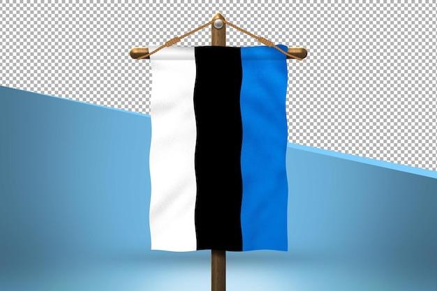 エストニアハングフラグデザインの背景