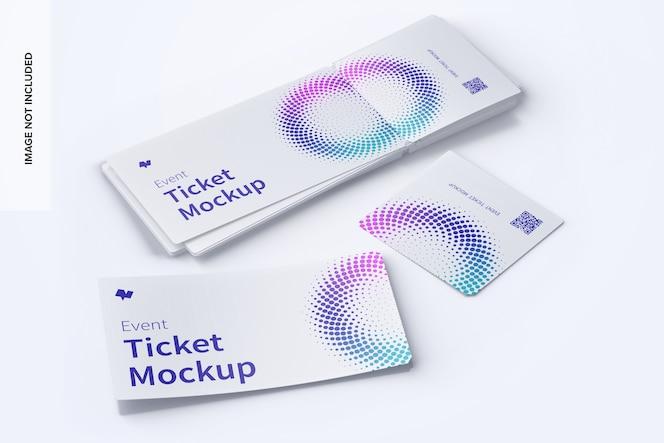 活动票证模型