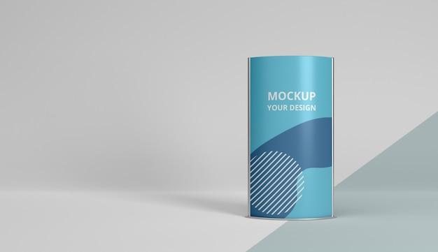 Composizione mock-up stand fieristico