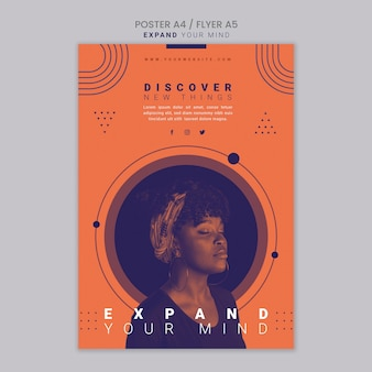 Expand your mind flyer template