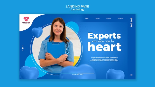 Experts who know you by heartlanding page