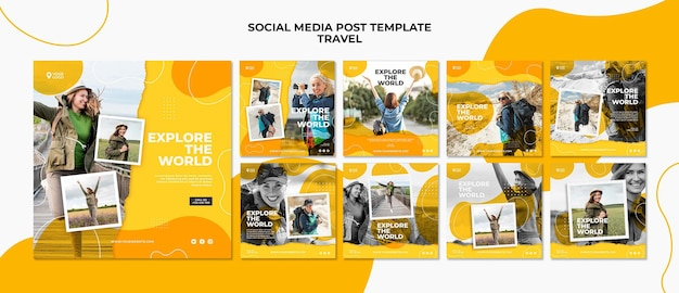 Изучите мировой пост в социальных сетях