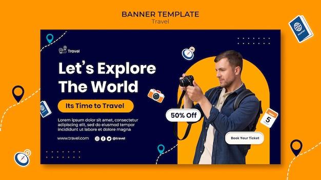 Esplora il modello di banner mondiale