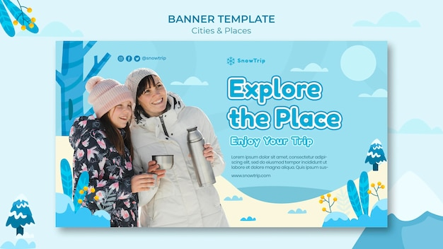 Esplorare nuovi modelli di banner per luoghi