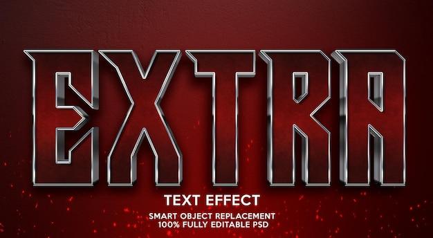 Шаблон дополнительного текстового эффекта