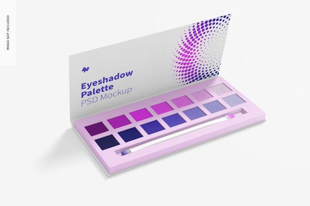 Eyeshadow palette mockup Premium Psd