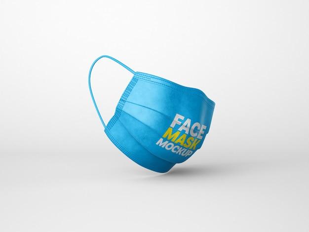 Мокап маски для лица