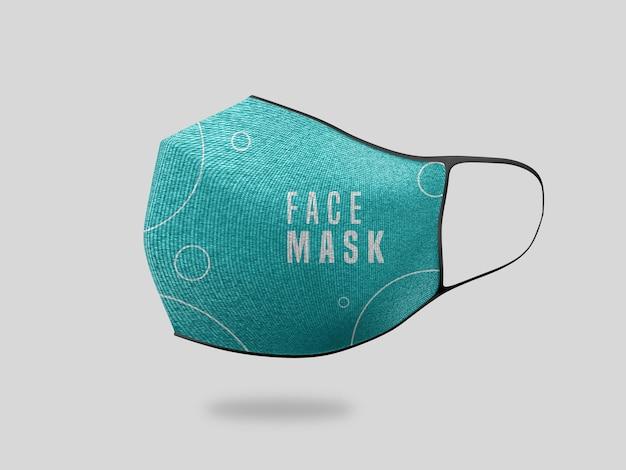 Макет маски для лица