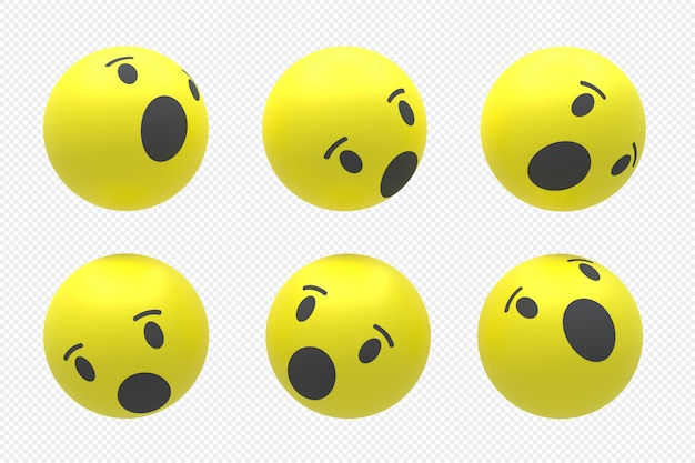 3dレンダリングで設定されたfacebookソーシャルメディアのロゴ