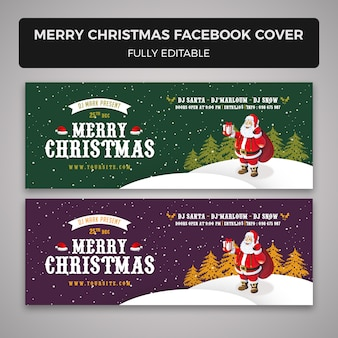 メリークリスマスfacebookカバー