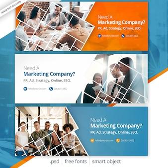 ビジネスマーケティングのfacebookカバー
