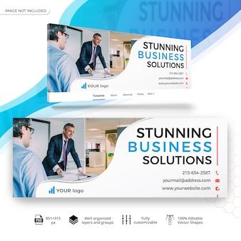 Бизнес маркетинг facebook баннер