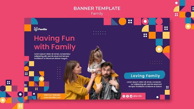 Семейный баннер
