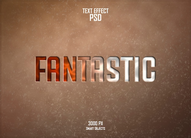 Fantastic text effect