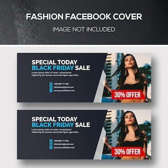 Fashion banner set