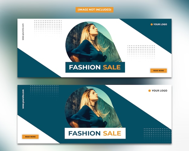 Fashion facebook cover template