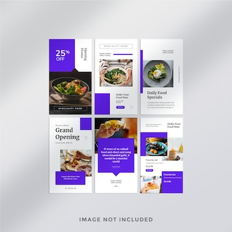 Fashion instagram post banner template
