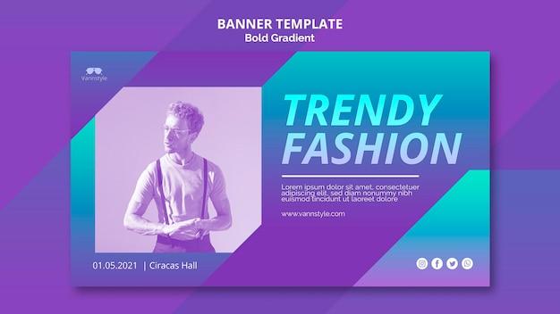 Баннер продажи моды