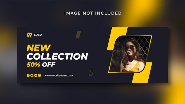 Fashion sale social medi abanner or social media template