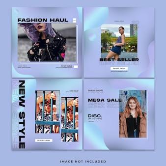패션 소셜 미디어 instagram 게시물 모음