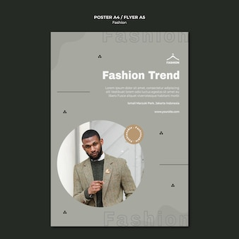 Fashion store template flyer