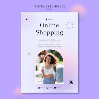 Fashion and style print template