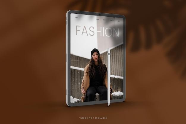 패션 태블릿 모형 디자인