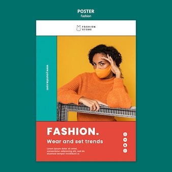 Fashion trends poster
