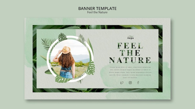 Feel the nature banner