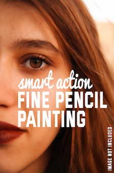 Fine pencil painting effect to your photos