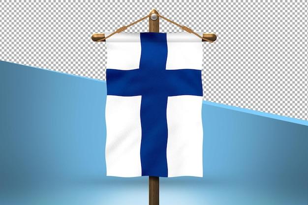 핀란드 교수형 플래그 디자인 배경