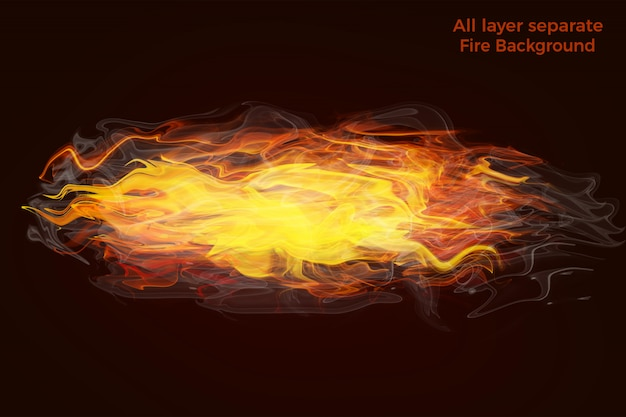 Fire flames high quality background
