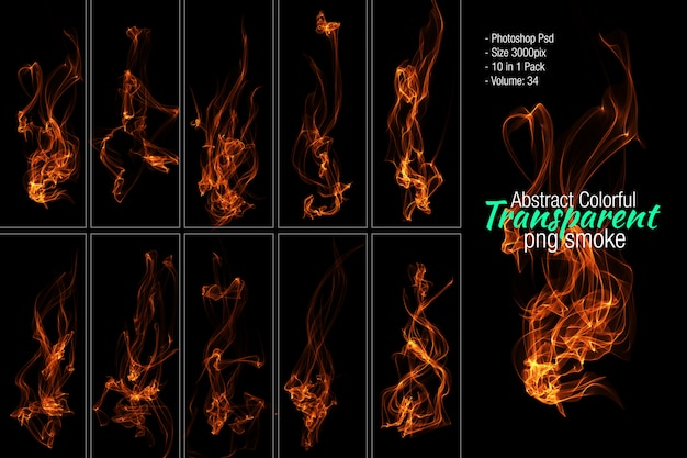 Fire photoshop psd