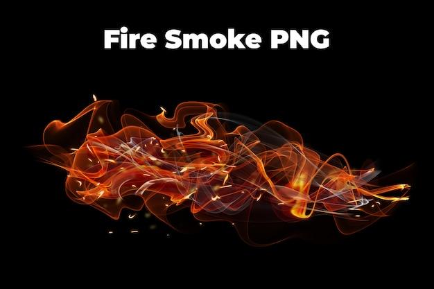 Fire smoke