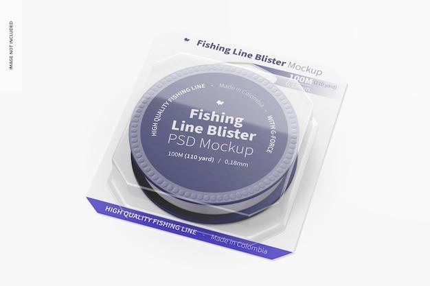 釣り糸ブリスターモックアップ