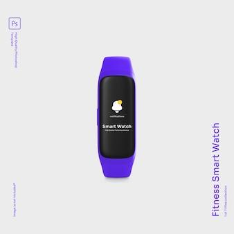 Fitness smart watch mockup