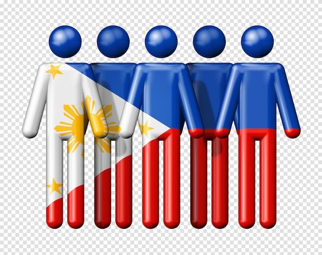 Флаг филиппин на фигурках