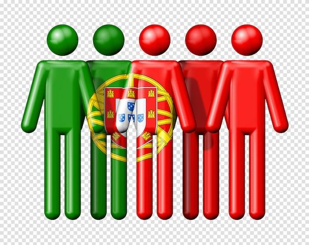 Флаг португалии на фигурках
