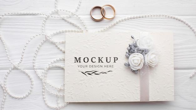 아름다운 결혼식 개념 모형의 평면 배치