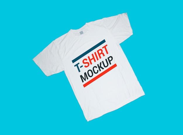 Плоский макет футболки