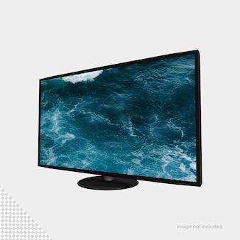 평면 스크린 tv 모형