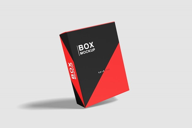Float box mockup