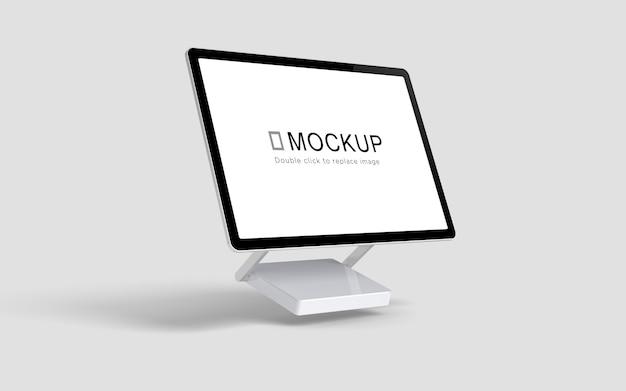 フローティングデスクトップ画面のモックアップ