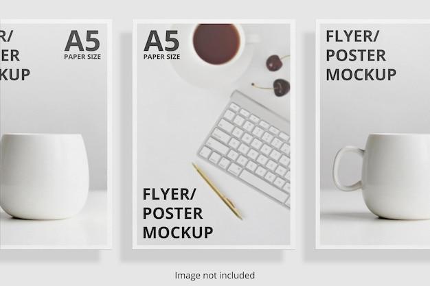 Плавающий дизайн макета брошюры