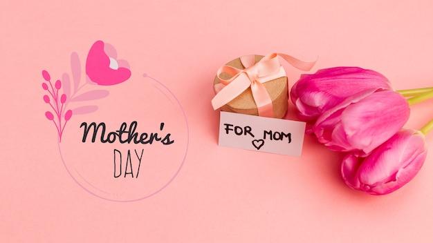 꽃 어머니의 날 이랑